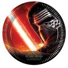 Star Wars VII 23 CM Plates (Pack of 8)