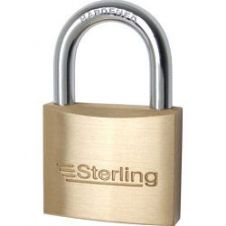 Sterling Mid Security Brass Padlock - 40mm