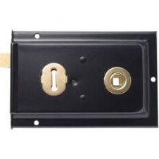 Sterling Rim Lock Black - 6