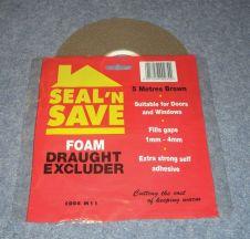 Stormguard Seal N Save Foam - 5m M11 - Brown