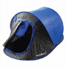 Summit Hydrashaft 2 Person Pop Up Tent - 1500hh Blue