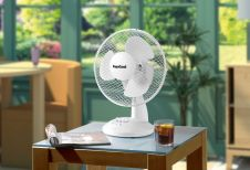 SupaCool Oscillating Desk Fan - 9 inch