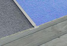 SupaDec Aluminium Carpet To Carpet Strip - 900 x 45mm