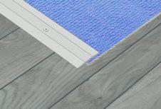 SupaDec Aluminium Coverstrip - 25 x 1800mm