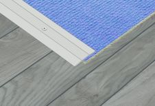 SupaDec Aluminium Coverstrip - 33x1800mm