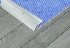 SupaDec Aluminium Floor Vinyl Edge - 27x900