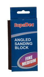 SupaDec Angled Sanding Block - Fine/medium