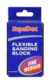 SupaDec Flexible Sanding Block - Fine/Medium
