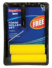 SupaDec Foam Roller & Tray Set - 9