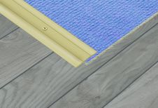 SupaDec Gold Effect Contract Coverstrip - 37x900mm
