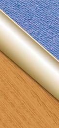 SupaDec Gold Effect Floor Edging - 30 x 900mm
