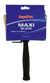 SupaDec MAXI Block Brush - 40mm x 140mm
