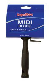 SupaDec MIDI Block Brush - 30mm x 120mm