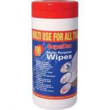 SupaDec Multi Purpose Wipes - Pack 100