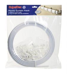 SupaDec Plastic Curtain Track