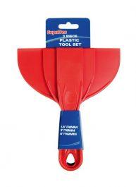 SupaDec Plastic Putty Knife - 3 Piece