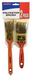 SupaDec Polyester Brush Set - Pck 2