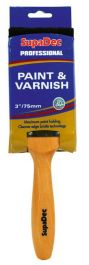 SupaDec Professional Paint & Varnish Brushes - 4