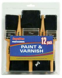 SupaDec Professional Paint & Varnish Set - 12 Piece