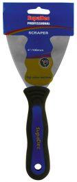 SupaDec Professional Soft Grip Paint Scrapers - 4