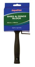 SupaDec Shed & Fence Block Brush - 4
