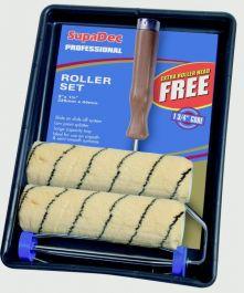 SupaDec Tiger Stripe Roller Kit - Professional 9