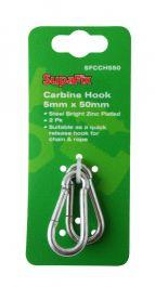SupaFix Carbine Hook Pack 2 - 5x50mm