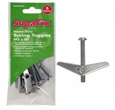 SupaFix Heavy Duty Spring Toggles - M3 x 50