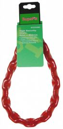 SupaFix High Security Chain 800mm - Bright Zinc Plated 4mm