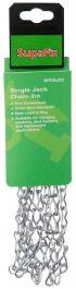 SupaFix Single Jack Chain 2m - Pre-galvanised 2mm