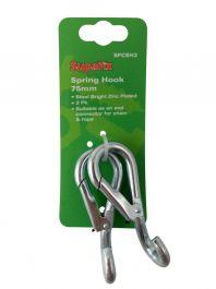 SupaFix Spring Hook Pack 2 - 75mm