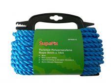SupaFix Twisted Polypropene Rope 15m - 8mm