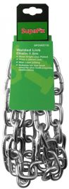SupaFix Welded Link Chain 1.5m - Steel Bright Zinc Plated 7x28mm