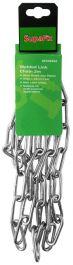 SupaFix Welded Link Chain 2m - Steel Bright Zinc Plated 5x35mm