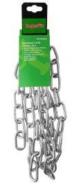 SupaFix Welded Link Chain 2m - Steel Bright Zinc Plated 6x33mm