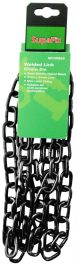 SupaFix Welded Link Chain 2m - Steel Electro Plated Black 5x21mm