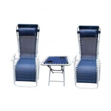 SupaGarden Chair Set With Drinks Table