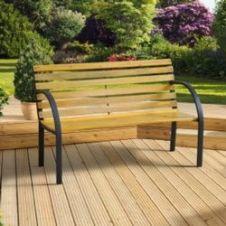 SupaGarden Garden Bench - Slat Design