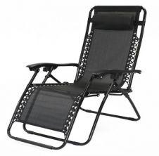 SupaGarden Oversize Zero Gravity Chair - Grey