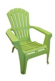 SupaGarden Plastic Stackable Armchair - Lime