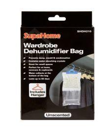 SupaHome Wardrobe Dehumidifier Bag - 210g