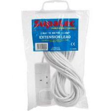 SupaLec 2 Gang Extension Lead - 10 Metre 13 Amp