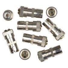 SupaLec Coaxial Female Plug - Metal