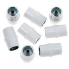 SupaLec In Line Coaxial Cable Connectors - Plastic