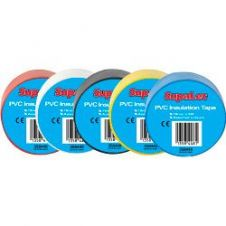 SupaLec PVC Insulation Tapes - Assorted 5 Metre Pack 10