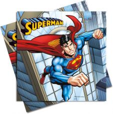 Superman Lunch Napkins (Pack of 20)