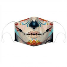 Suture Lips Face Mask With Filter Pocket