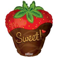 Sweet Strawberry Shape Balloon (18 inch)