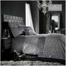 TESSELLA DUVET SET CHARCOAL