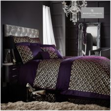 TESSELLA DUVET SET PURPLE